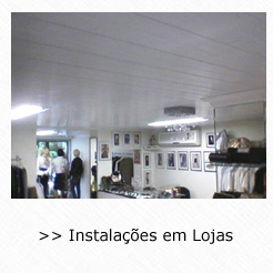 Instalações de Forros de PVC em Lojas